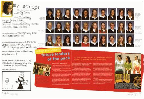 Yearbook Profile Ideas-Part 1-The Design – The Yearbook Ladies