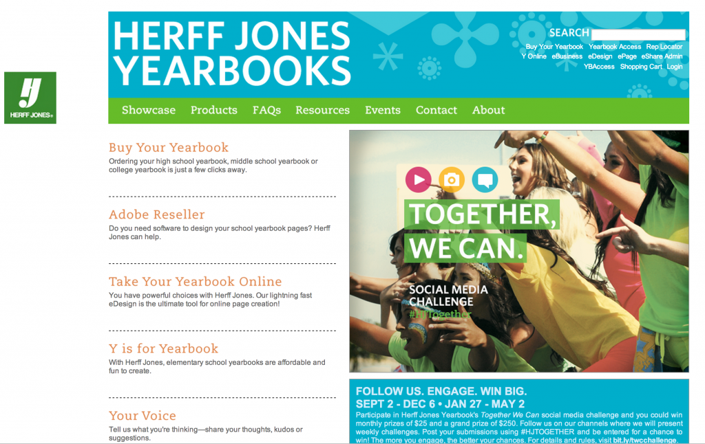 Herff Jones Yearbooks Home Page