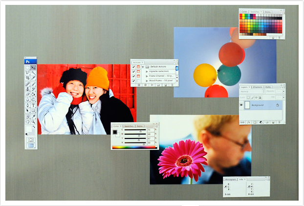 Photoshop Refrigerator Magnets