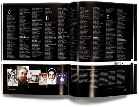 Creating an Interesting and Informative Yearbook Index Design