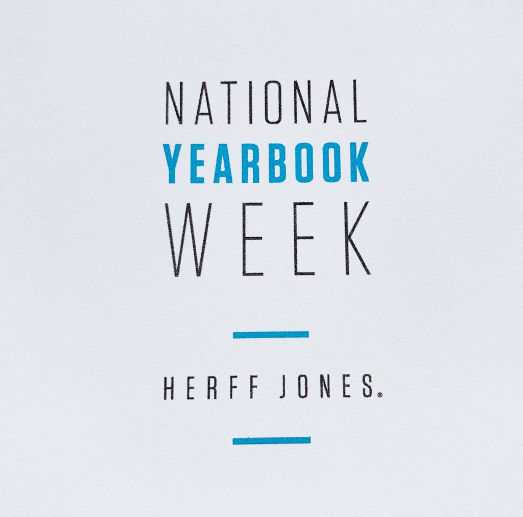 National Yearbook Week Oct 7 – 11
